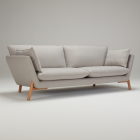 Sofa 'HASLE' by KRAGELUND, different colours and sizes