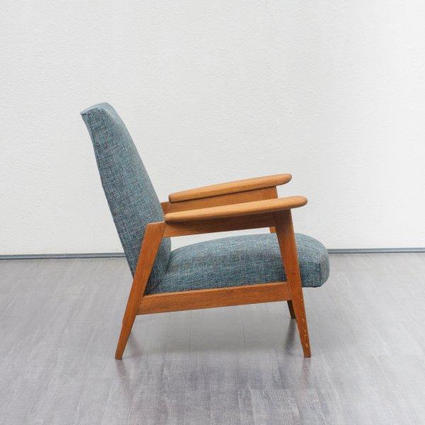 Velvet-Point - sitzmöbel_sessel Restaurierter 50er Jahre Sessel aus ...