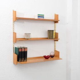 1960s wall shelf, elm (no. 7134/B)