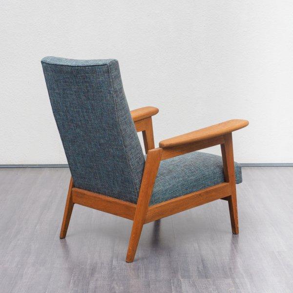 Velvet Point Sitzmöbel Sessel Restaurierter 50er Jahre