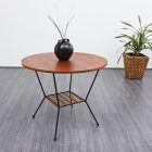 60s table, teak (no. 3931)