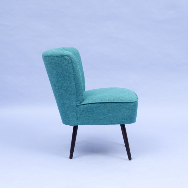 Cocktailsessel blau  Velvet-Point - seating & tables 1950s style cocktail easy chair ...