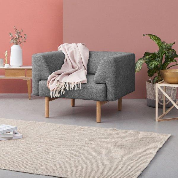 Sofa U0027Ebeltoftu0027 Von KRAGELUND, 3 Sitzer, Modell K210