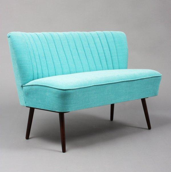 Velvet point sitzm bel tische cocktailsofa im stil der for Sofa 50er jahre stil