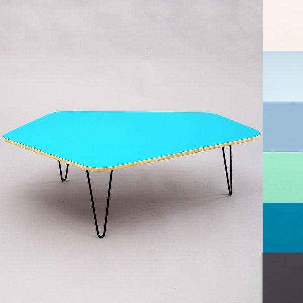 velvet point aufbewahrung tische kleinserie aus schreinerhand asymmetrischer couchtisch mit. Black Bedroom Furniture Sets. Home Design Ideas