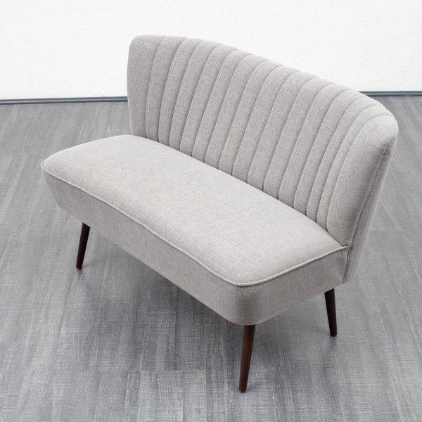 velvet point sitzm bel cocktailsofa im stil der 50er jahre grau nr 2684 karlsruhe. Black Bedroom Furniture Sets. Home Design Ideas